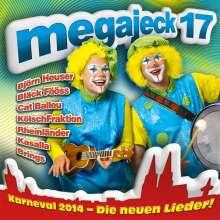 Megajeck 17, CD