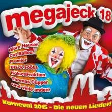 Megajeck 18, CD