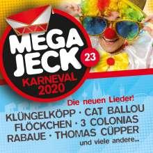 Megajeck 23, CD