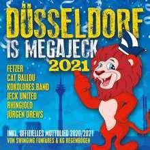Düsseldorf is megajeck 2021, CD