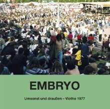 Embryo: Umsonst und draußen: Vlotho 1977, CD
