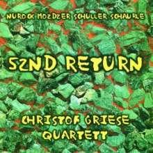 Christof Griese (geb. 1957): 52nd Return, CD