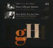 Dizzy Gillespie & Hans Koller: NDR 60 Years Jazz Edition No. 01 - Live March 9, 1953, NDR Studio, Hamburg (remastered) (mono), LP