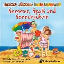 Detlev Jöcker: Sommer, Spaß und Sonnenschein, CD