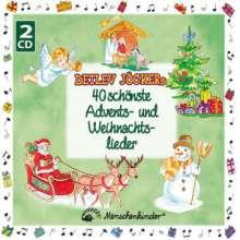 Detlev Jöcker: Detlev Jöckers 40 schönste Weihnachtslieder, 2 CDs