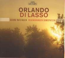 Orlando di Lasso (Lassus) (1532-1594): Geistliche und Weltliche Chorwerke, CD