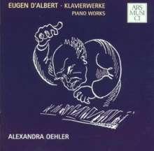 Eugene d' Albert (1864-1932): Klavierwerke, CD