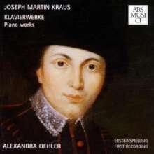 Josef Martin Kraus (1756-1792): Klavierwerke, CD