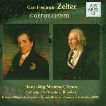 Karl Friedrich Zelter (1758-1832): Goethe-Lieder Vol.1 & 2, 2 CDs