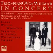 """Trio """"pianOVo"""" in concert, CD"""