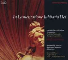 In Lamentatione Jubilatio Dei, CD