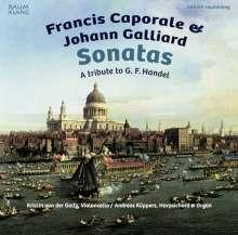 Francis Caporale (1700-1746): Sonaten für Cello & Bc d-moll, G-Dur, A-Dur, B-Dur, CD