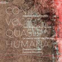 Con Voce quasi Humana, CD