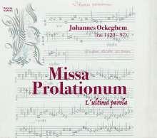 Johannes Ockeghem (1430-1497): Missa prolationum, CD