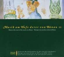 Musik am Hofe derer von Bünau II, CD