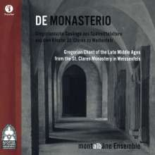 Montalbane Ensemble - De Monasterio, CD