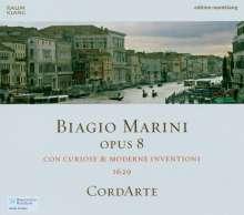 Biagio Marini (1597-1665): Moderne e Curiose Inventioni op.8, CD