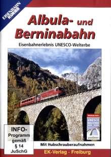 Albula- und Berninabahn - Eisenbahnerlebnis UNESCO-Welterbe, DVD