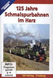 125 Jahre Schmalspurbahn im Harz, DVD