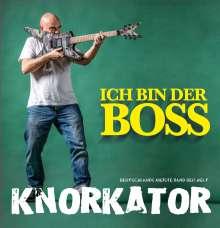 Knorkator: Ich bin der Boss (Prächtige Fanbox), 1 CD, 1 DVD und 1 Buch