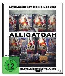 Alligatoah: Livemusik ist keine Lösung: Himmelfahrtskommando Tour, Blu-ray Disc