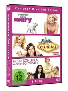 Cameron Diaz Collection (Verrückt nach Mary / Love Vegas / In den Schuhen meiner Schwester), 3 DVDs
