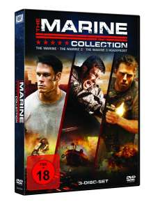 The Marine Movie Collection 1-3, 3 DVDs