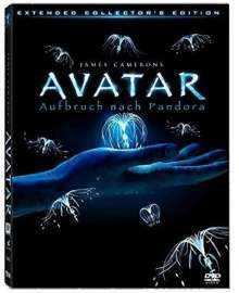 Avatar (Extended Collector's Edition) (Lenticular Cover), 3 DVDs