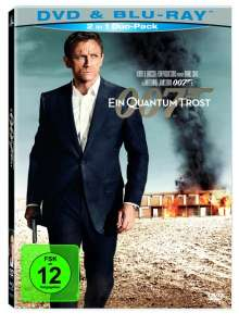 James Bond: Ein Quantum Trost (Blu-ray & DVD), 2 Blu-ray Discs