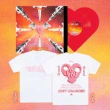 "Ufo361: Shit Changed (Limited Bundle Edition)  (Red Vinyl Herzförmig + T-Shirt), Single 12"""