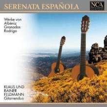 Gitarrenduo Klaus & Rainer Feldmann - Serenata Espanola, CD