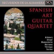 Spanish Art Guitar Quartet - Recuerdos de la Alhambra, CD