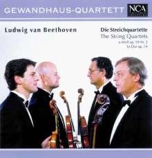 Ludwig van Beethoven (1770-1827): Streichquartette Nr.8 & 10, CD