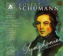 Robert Schumann (1810-1856): Symphonien Nr.1-4 (nach der Urtext-Edition), 2 CDs