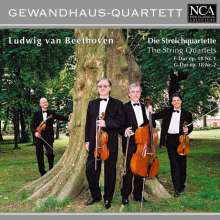 Ludwig van Beethoven (1770-1827): Streichquartette Nr.1 & 2, CD