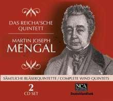 Martin-Joseph Mengal (1784-1851): Sämtliche Bläserquintette, 2 CDs