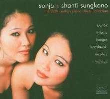 Sonja & Shanti Sungkono - 20th Century Piano Duets, CD