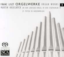 Franz Liszt (1811-1886): Orgelwerke Vol.4, Super Audio CD
