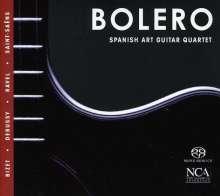 Spanish Art Guitar Quartet - Bolero, SACD