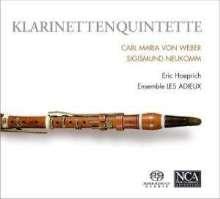 Sigismund Ritter von Neukomm (1778-1858): Klarinettenquintett op.8, SACD