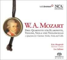 Wolfgang Amadeus Mozart (1756-1791): Klarinettenquartette op.79 Nr.1-3, SACD