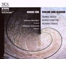 Andreas Buschatz & Tahmina Feinstein (Violine & Klavier), SACD