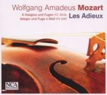 Wolfgang Amadeus Mozart (1756-1791): Adagios & Fugen für Streichtrio KV 404a, CD