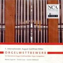 1.August Gottfried Ritter-Wettbewerb, CD