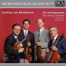 Ludwig van Beethoven (1770-1827): Streichquartette Nr.11 & 12, CD