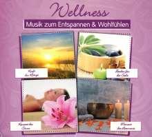 Wellness: Musik zum Entspannen & Wohlfühlen, 4 CDs