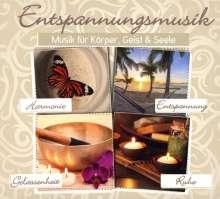 Entspannungsmusik: Musik für Körper, Geist & Seele, 4 CDs
