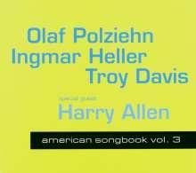 Olaf Polziehn, Ingmar Heller & Troy Davis: American Songbook Vol. 3, CD