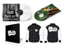 Frank White (Fler): Colucci (Limited-Deluxe-Box) (White Vinyl) (College-Jacke Gr. L), 5 CDs