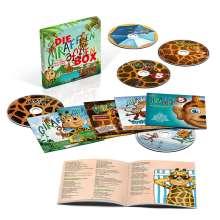 Die Giraffenaffen Box - 5 CDs mit Songs und Texten, 5 CDs